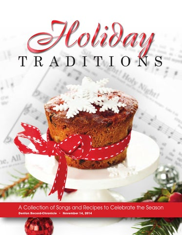 Holiday Traditions 2014 By Larry Mcbride Issuu