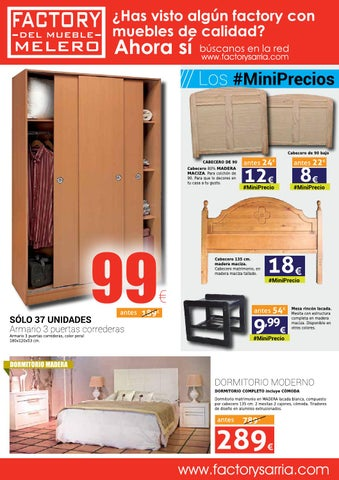 Muebles sarria en cordoba affordable premio muebles srria for Catalogo muebles sarria