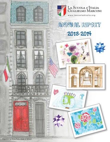 La Scuola Annual Report 2013-2014 by iperdesign, inc  - issuu