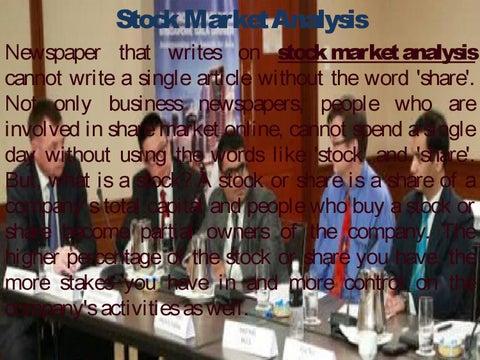 Stock Market Ysis | Share Market Online By Manish Hathiramani Trader Issuu
