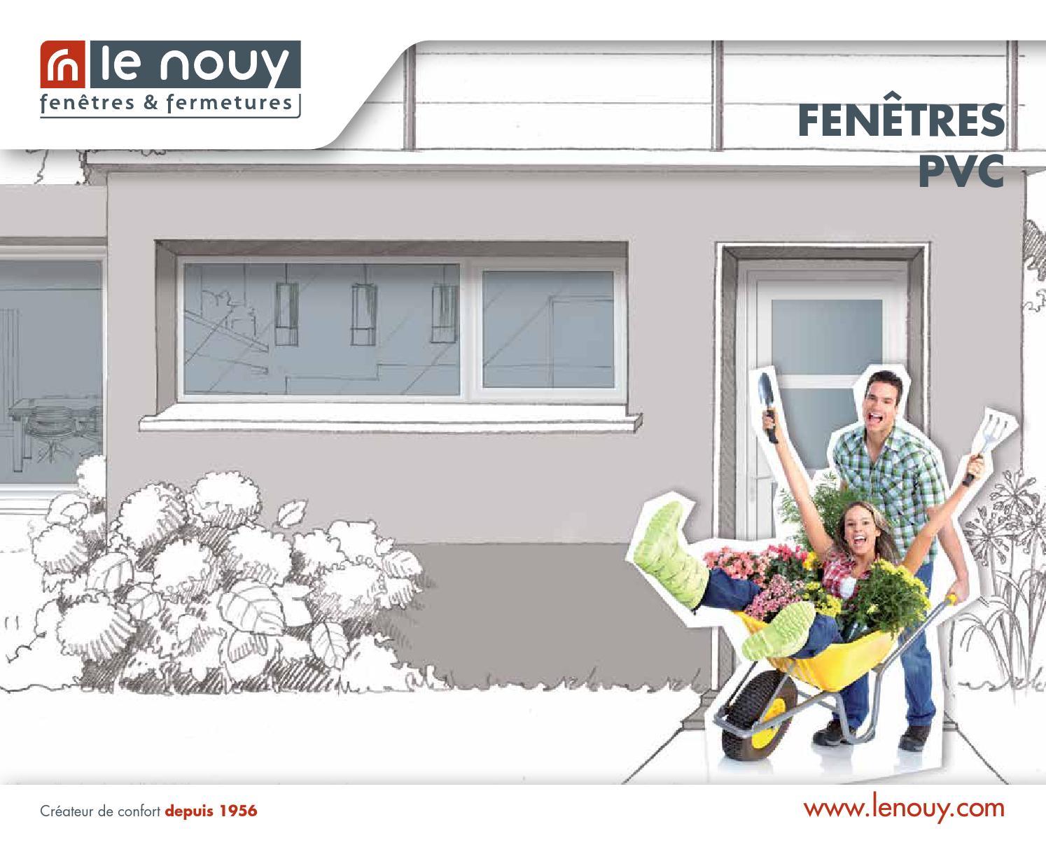 Catalogue menuiserie pvc by lenouy issuu for Empecher ouverture fenetre pub