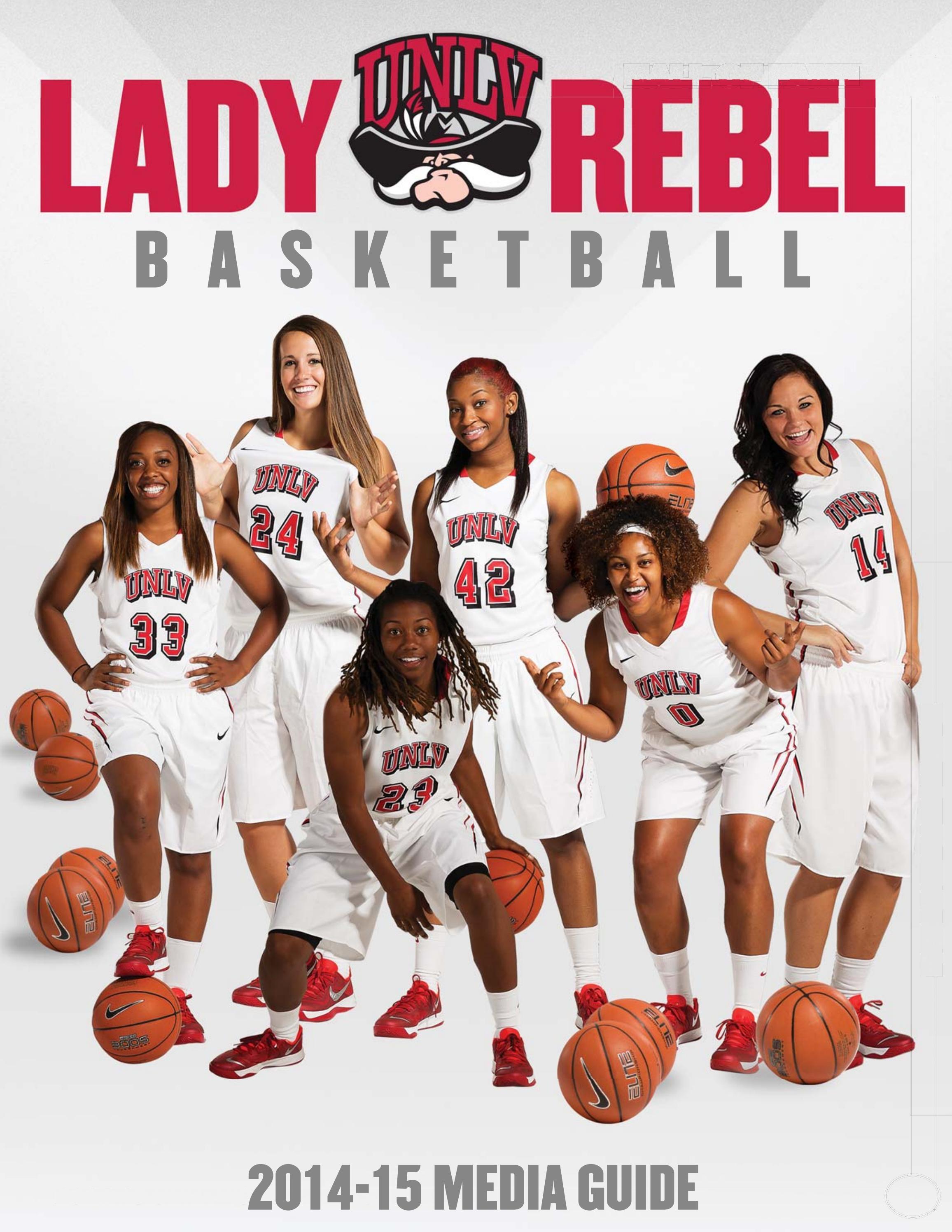 2014 15 UNLV Womens Basketball Media Guide By UNLV Sports