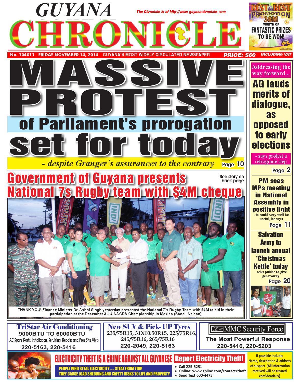 2014 11 14 by Guyana C...