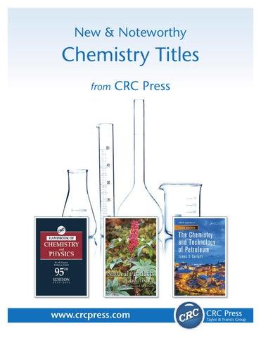 Chemistry by CRC Press - issuu