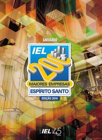 b8472b835 Anuário IEL 200 Maiores Empresas no Espírito Santo - 2014 by Next ...