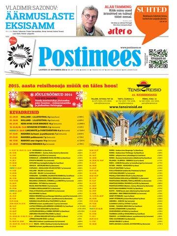 fe649b7fd0e Postimehe paberleht 15 11 2014 by Postimees - issuu