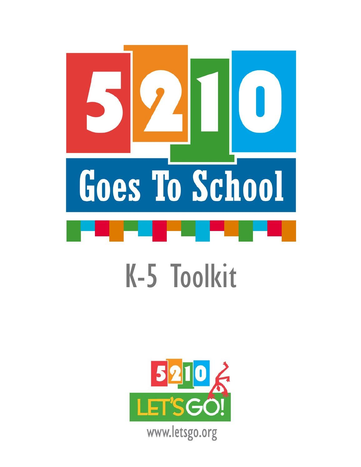 K-5 Toolkit 2014 by Let\'s Go! - issuu