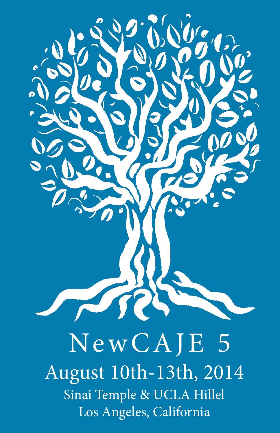 NewCAJE5 Program Book (2014) by New CAJE - issuu