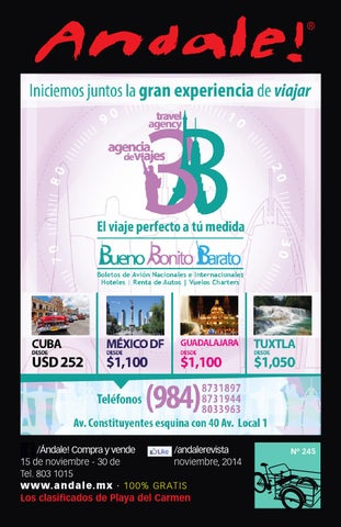 Edicion 245 web by Andale Revista - issuu 6abb2d6b428c1