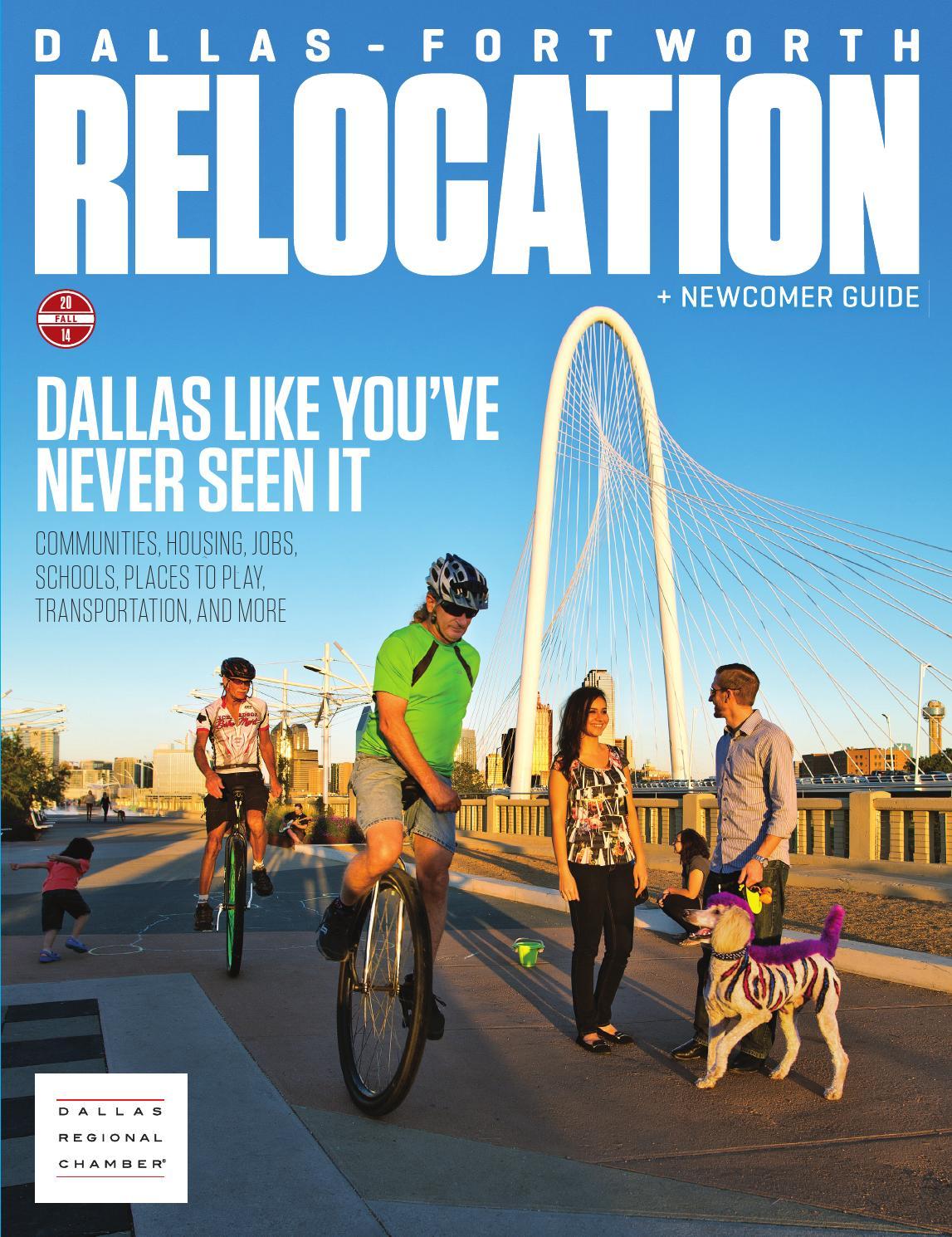 dallas fort worth relocation newcomer guide fall 2014 by dallas