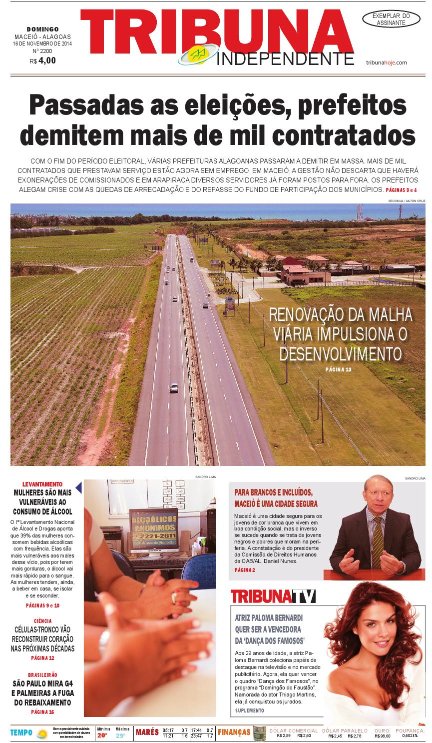 Edição número 2200 - 16 de novembro de 2014 by Tribuna Hoje - issuu d2b0b7c5be088