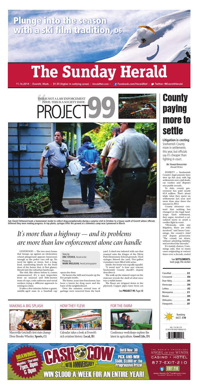 Everett Daily Herald November 16 2014 by Sound Publishing issuu