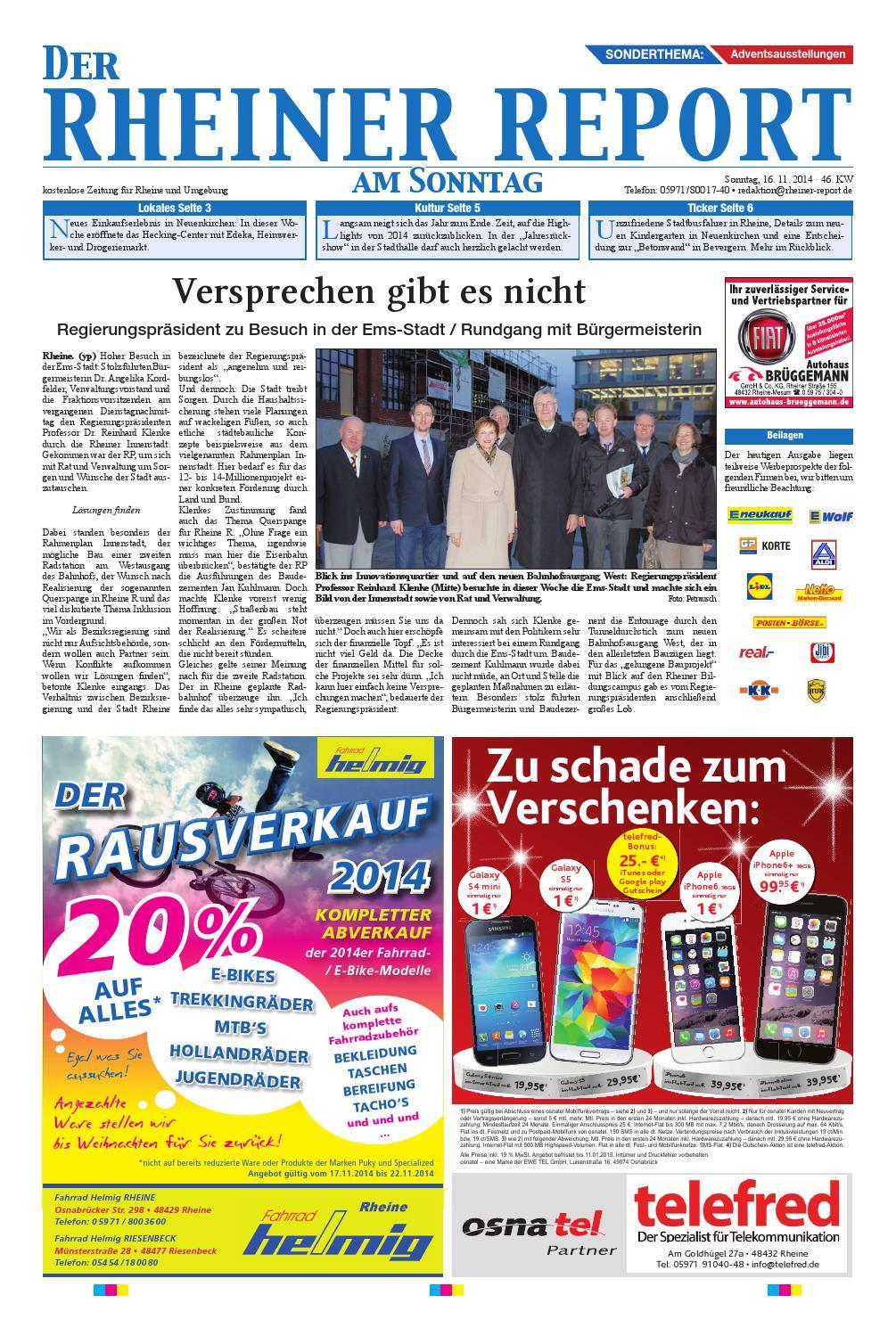 KW46-2014 by Rheiner Report GmbH - issuu