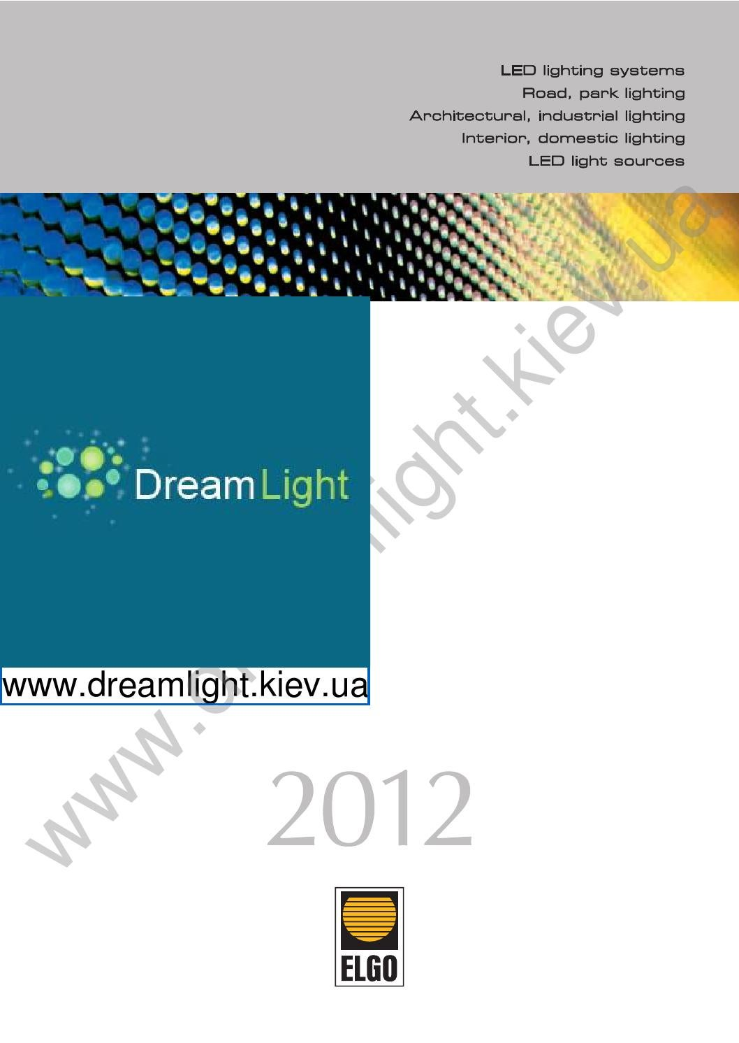 Brilum Catalog 2012 By Dreamlightkievua Issuu 9w Led Tube Light Circuit T5 Parameter Unit