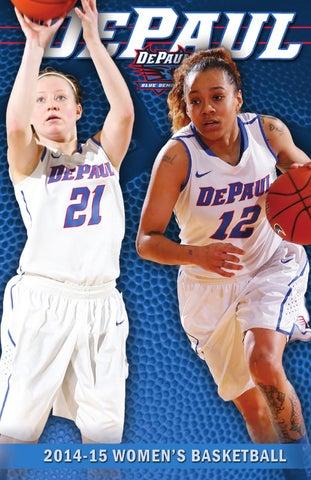14ca0bf8d 2014-15 DePaul Women's Basketball Media Guide by DePaul Athletics ...