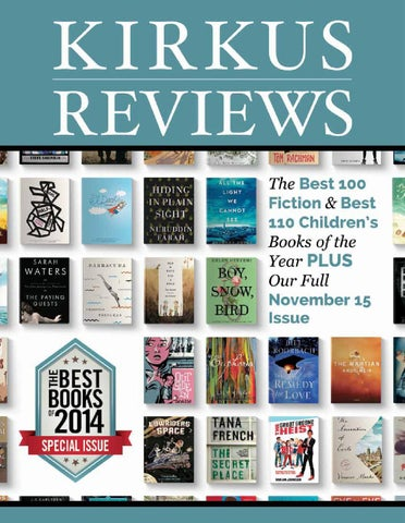 November 15 2014 Volume Lxxxii No 22 By Kirkus Reviews Issuu