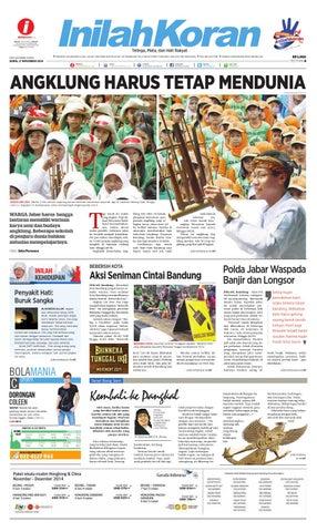 ANGKLUNG HARUS TETAP MENDUNIA by Inilah Media Jabar - issuu b4a268ba78