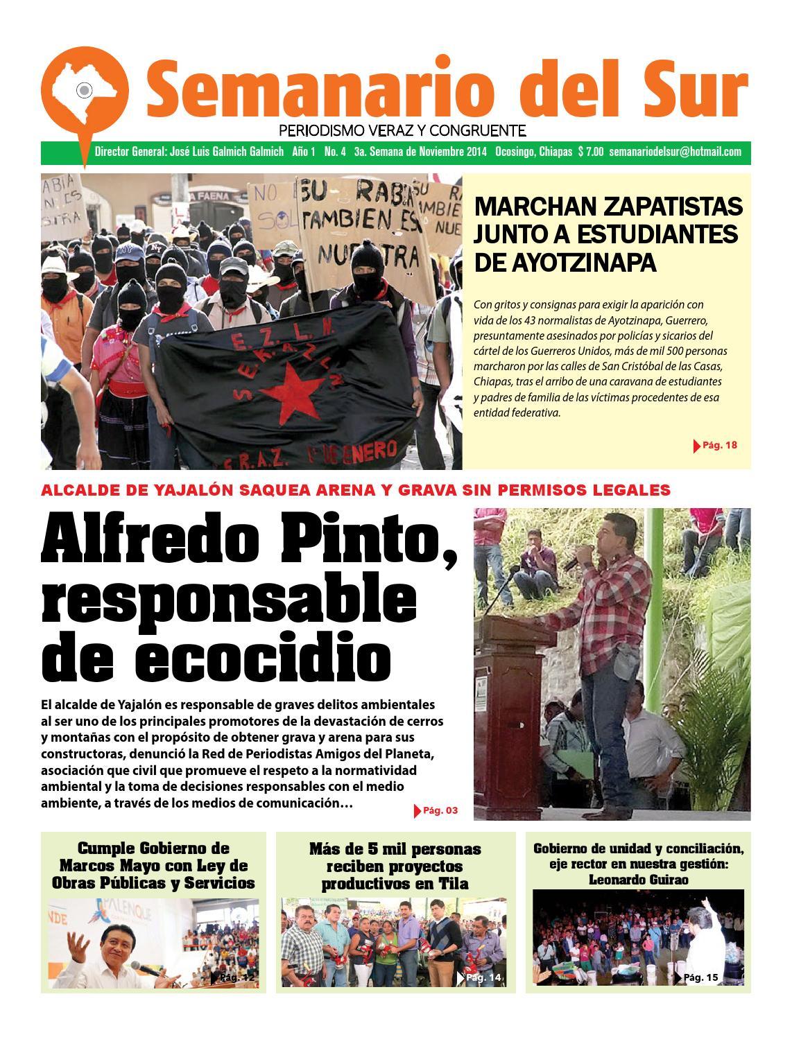 Semanario del Sur by Semanario del Sur - issuu