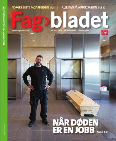 522e3973 Fagbladet 2014 11 - KON by Fagbladet - issuu