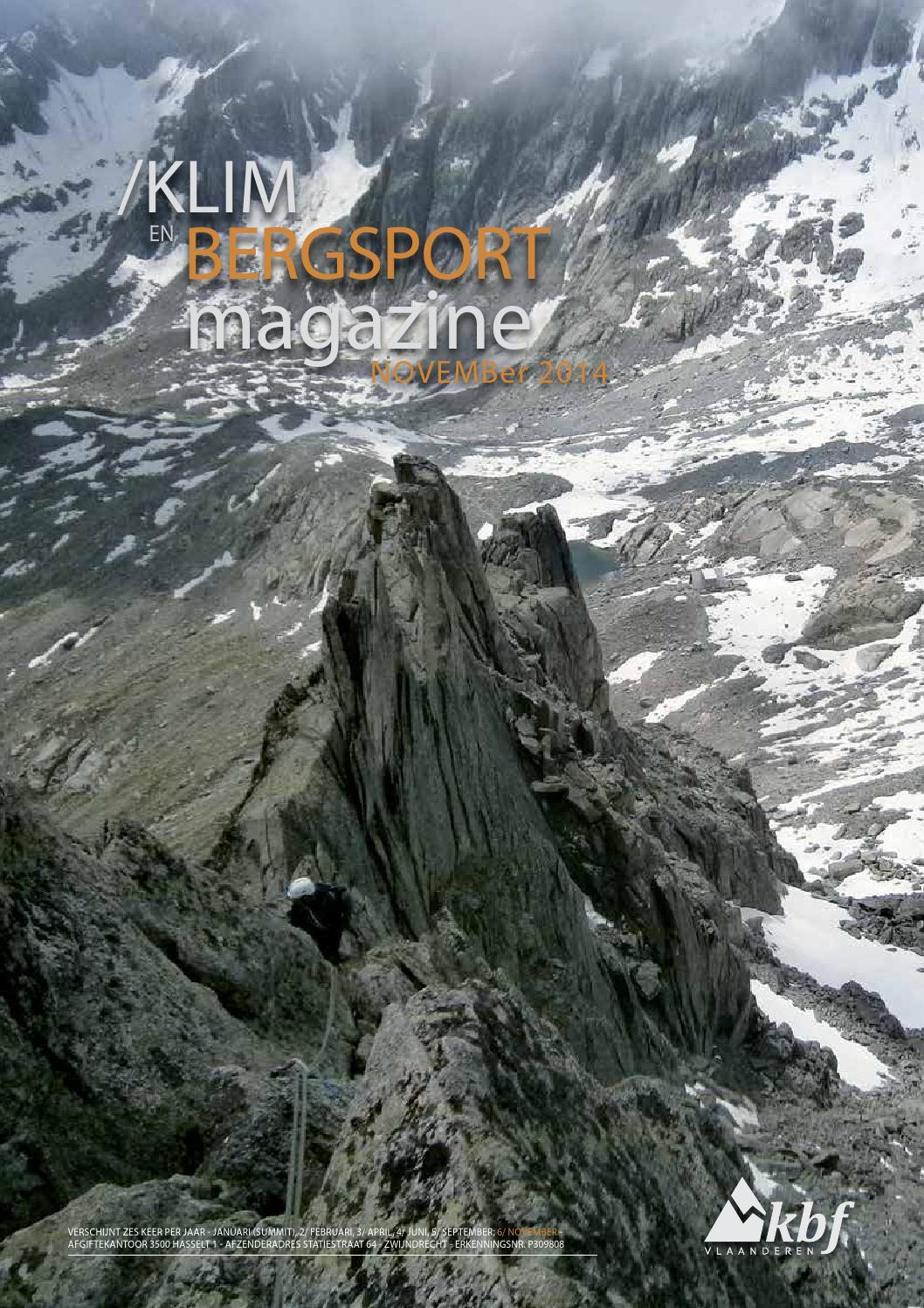 Klim- en bergsportmagazine 2014 5