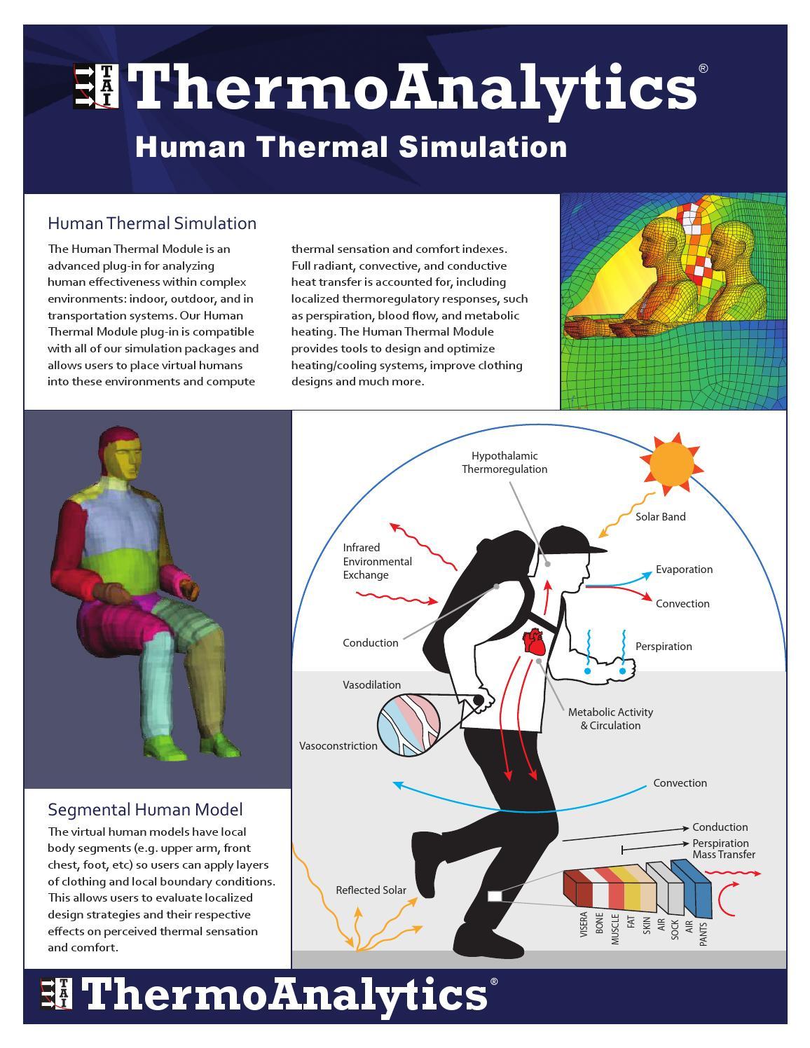 Human Thermal Simulation by ThermoAnalytics - issuu