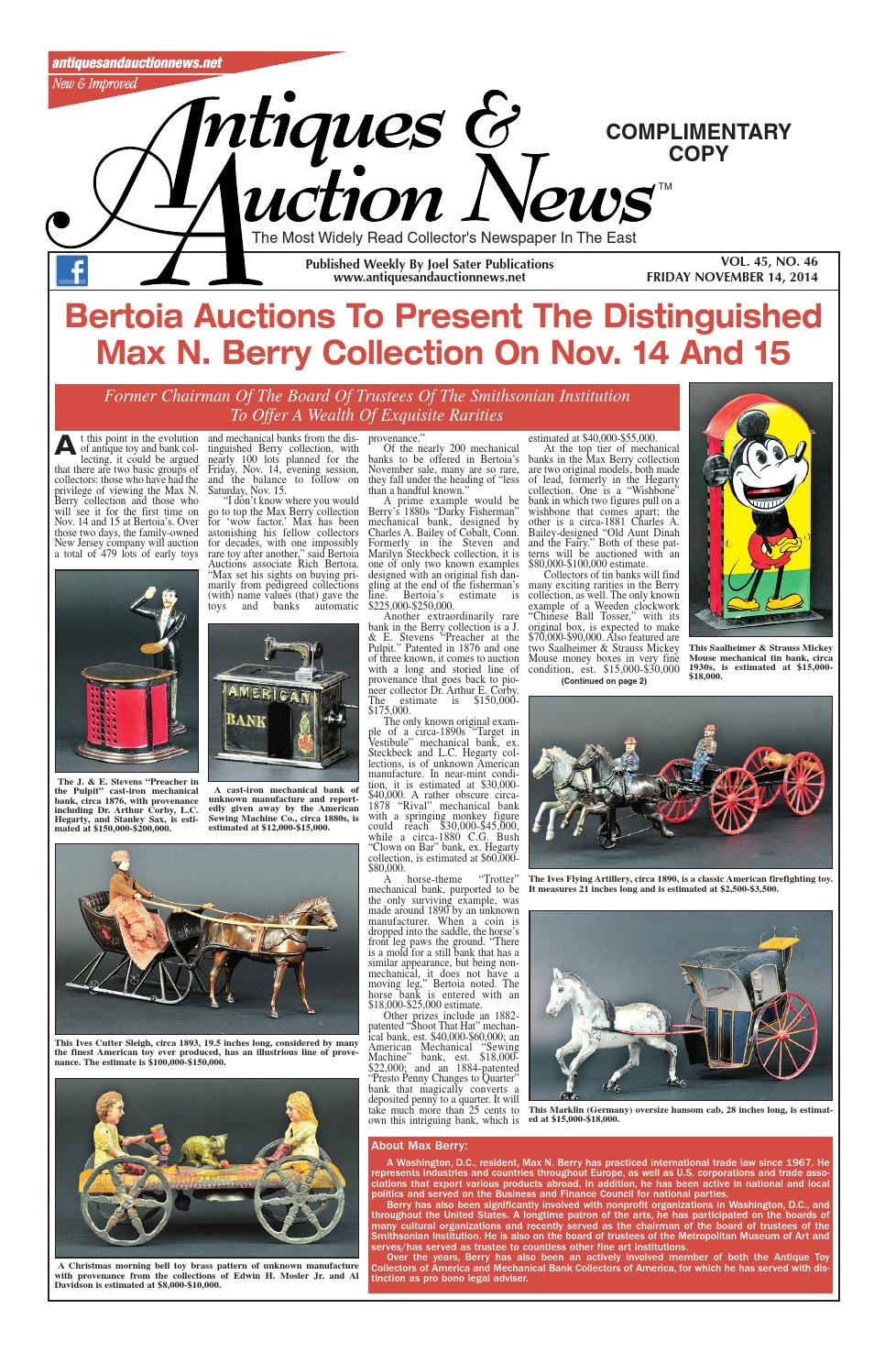 Antiques Auction News 111414 By