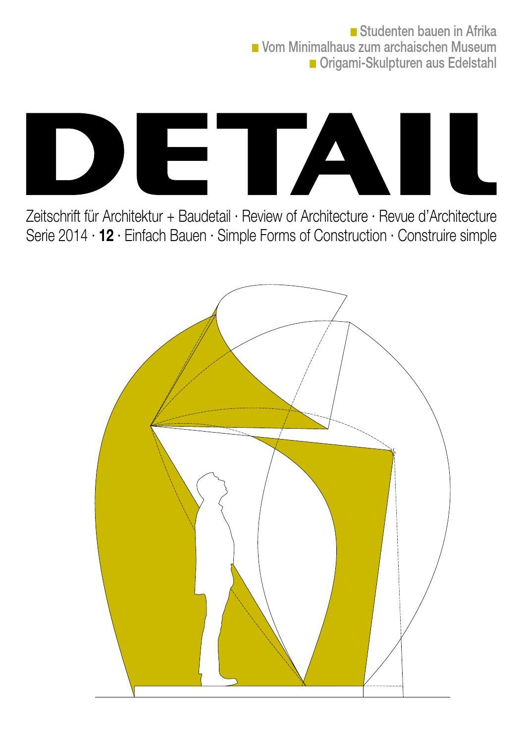 Zeitschrift für Architektur + Baudetail · Review of Architecture by ...