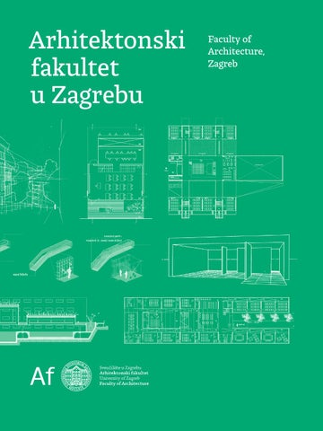 Faculty Of Architecture Zagreb Promo Brochure By Faculty Of