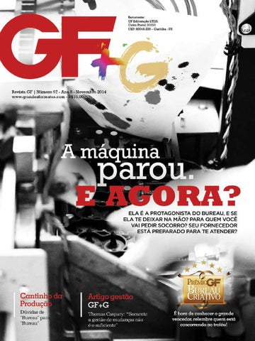 Revista GF - Ed. 97 - Novembro 2014 by Revista Grandes Formatos - issuu edd75adc7d