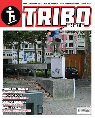Tribo Skate Edição 228 by Revista Tribo Skate - issuu f5462ce704357