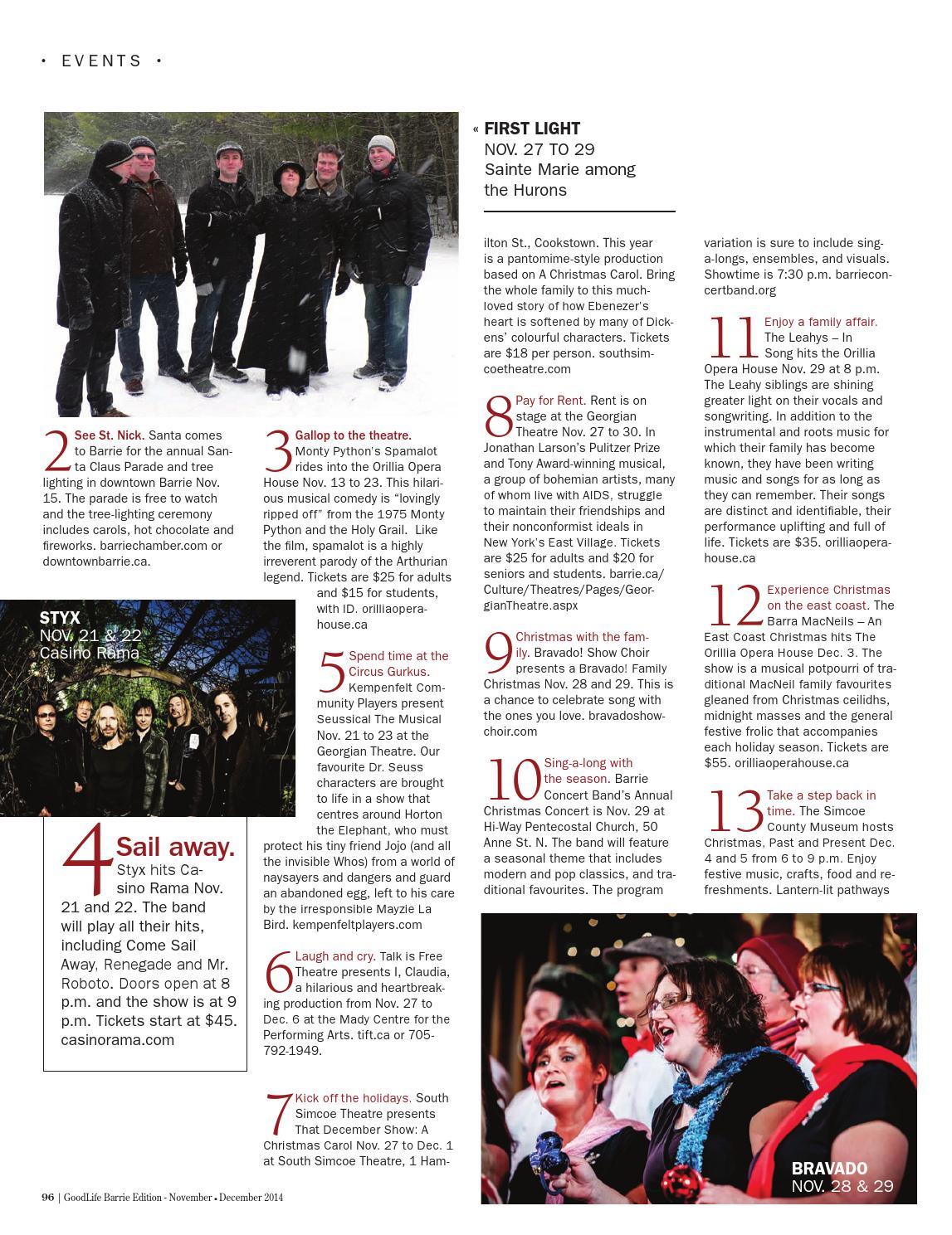 GoodLife Barrie November/ December 2014 by GoodLife Magazine ...