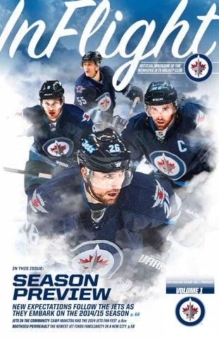 b4ab63029ea 2014-15 InFlight Magazine Vol.1 by Winnipeg Jets - issuu