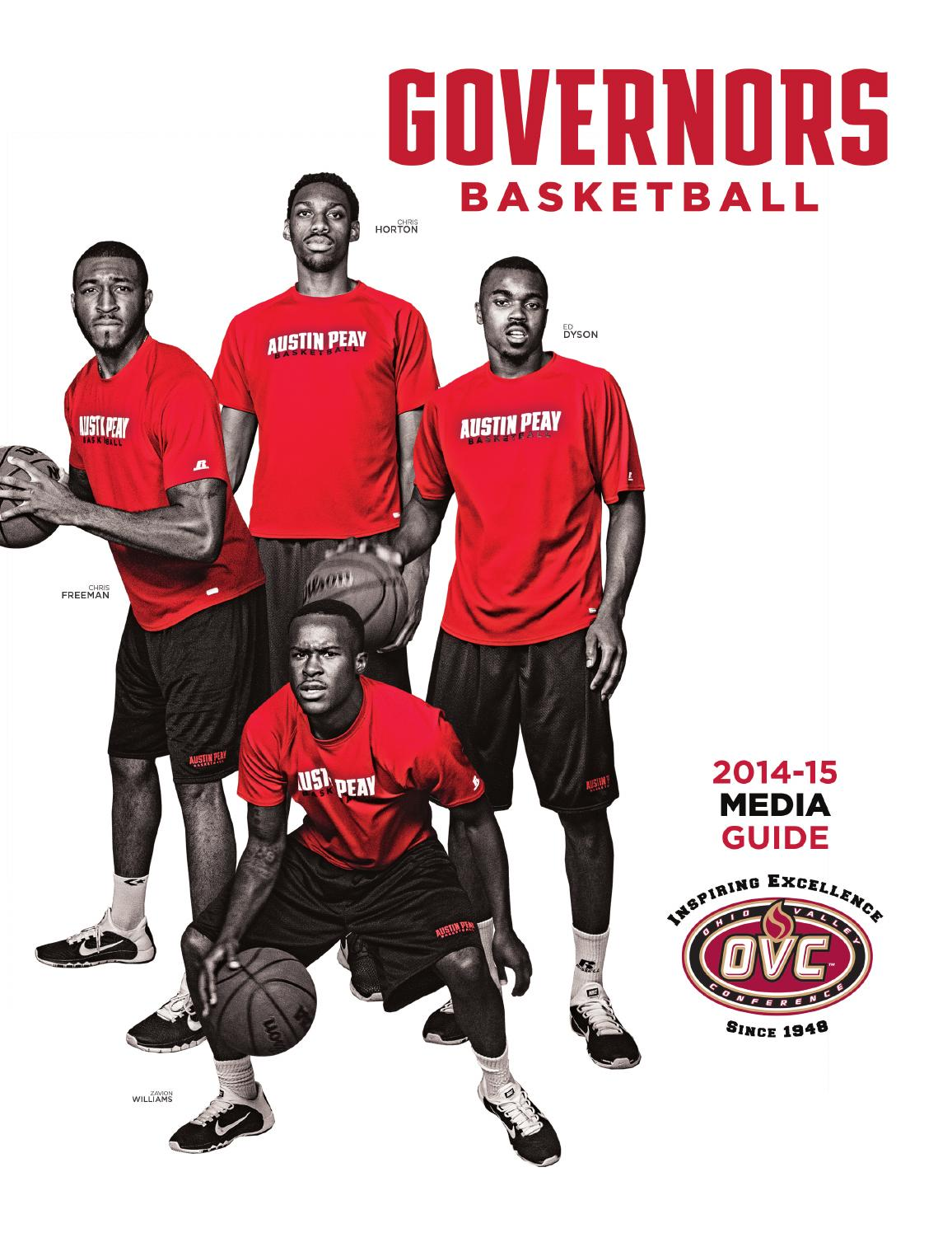 2014-15 Austin Peay Men s Basketball Media Guide by APSU Sports-Information  - issuu b1d21393d