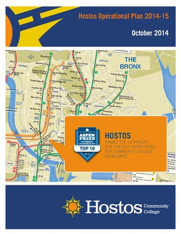 Hostos Campus Map.Hostos Operational Plan 2014 2015 By Hostos Community College Issuu