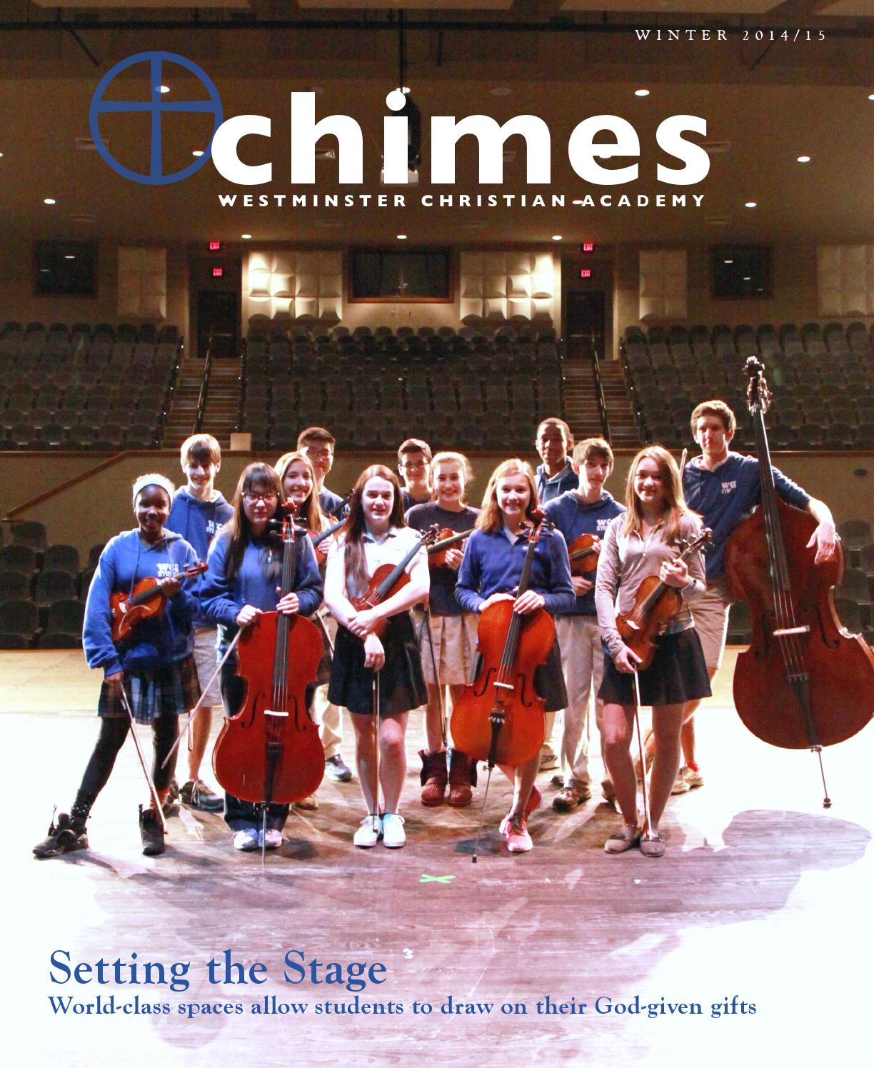 Chimes 2014/15 by Westminster Christian Academy - issuu