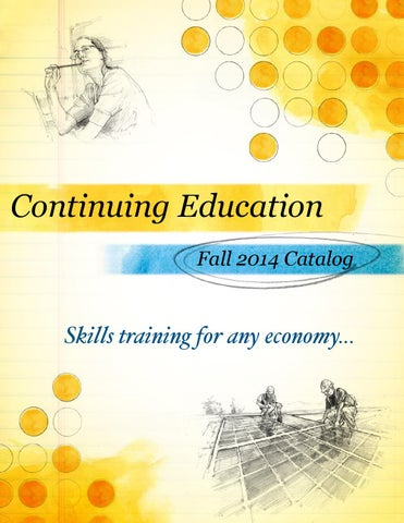 Slcc Continuing Education Fall 2014 Catalog By Salt Lake Community