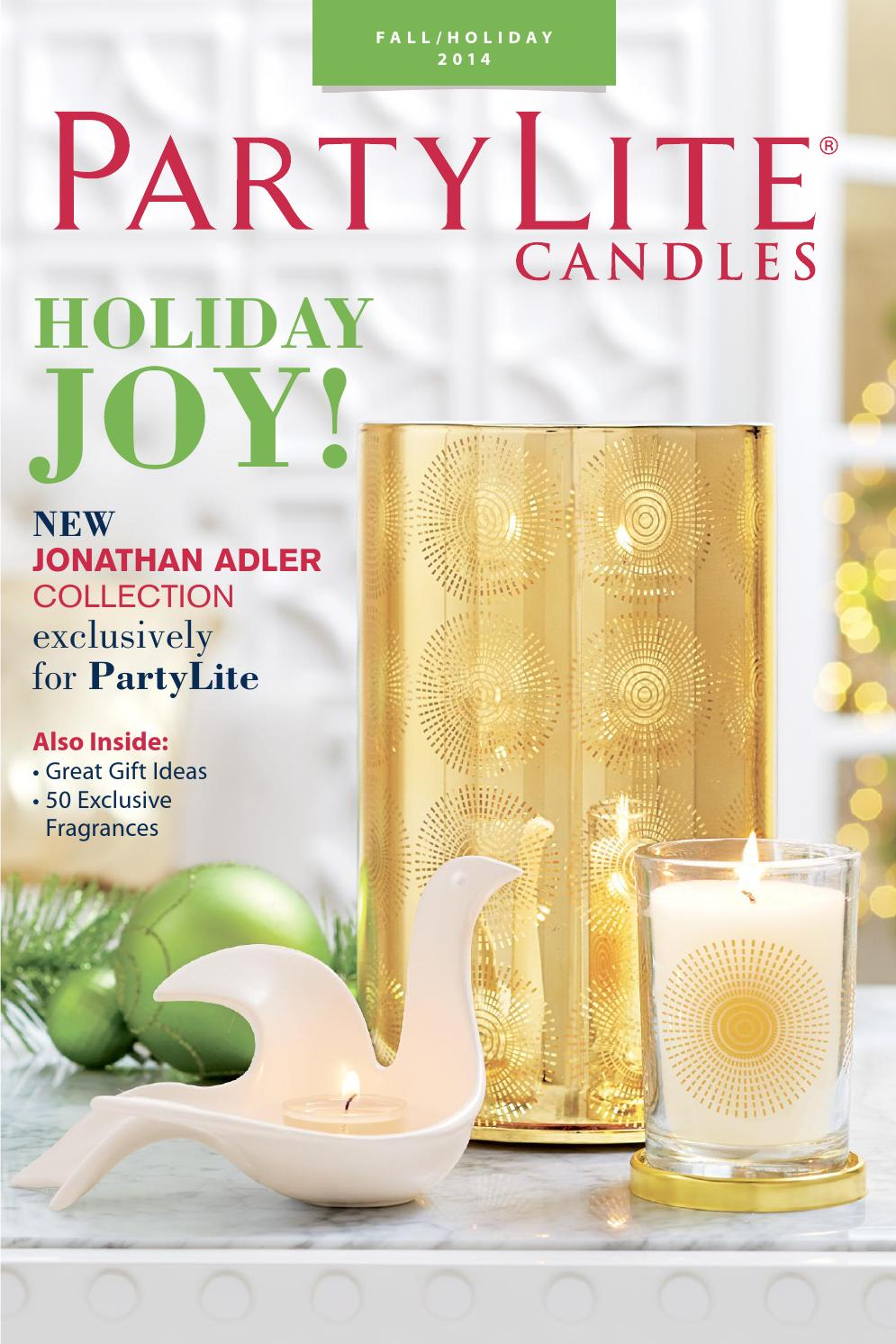 Partylite Catalog 2014 Fall Holiday By Kidina Trading Co Issuu