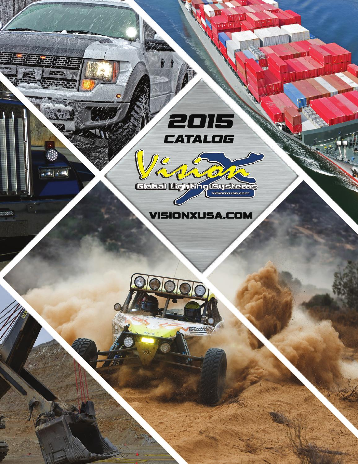 Vision X 2015 Catalog By Lighting Issuu Led Light Bar Additionally 12v Wiring On Flood Hid Work