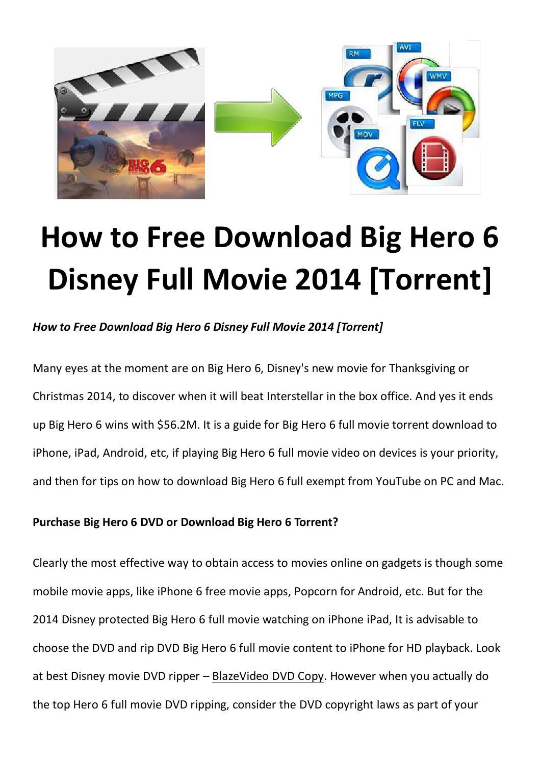 Download big hero 6 full free online by amigabit - issuu