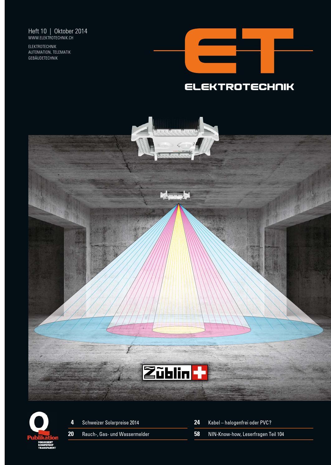 Elektrotechnik 10/2014 by AZ Fachverlage AG - issuu