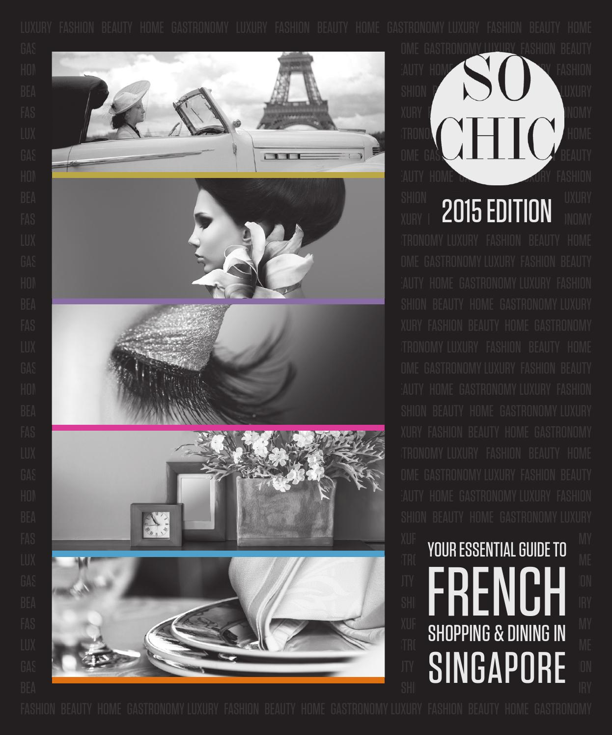 FCCS So Chic 2015 by The French Chamber of Commerce in
