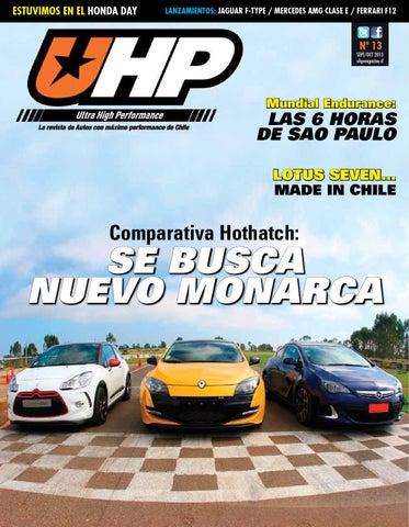 dd1d0d849059 UHP Magazine N°13 - Comparativa Hothatch  SE BUSCA NUEVO MONARCA by ...