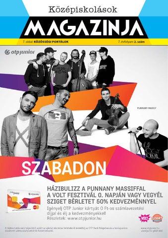 """Cover of """"Miskolc középiskolások magazinja 2014 novenber"""""""