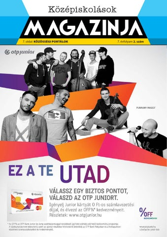 "Cover of ""Eger középiskolások magazinja 2014 novenber"""