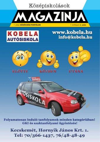 """Cover of """"Kecskemét középiskolások magazinja 2014 (2)"""""""
