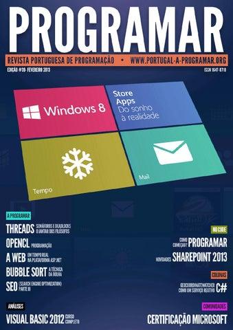 Revista programar 39ª Edição - Fevereiro 2012 by Thiago Philipp - issuu