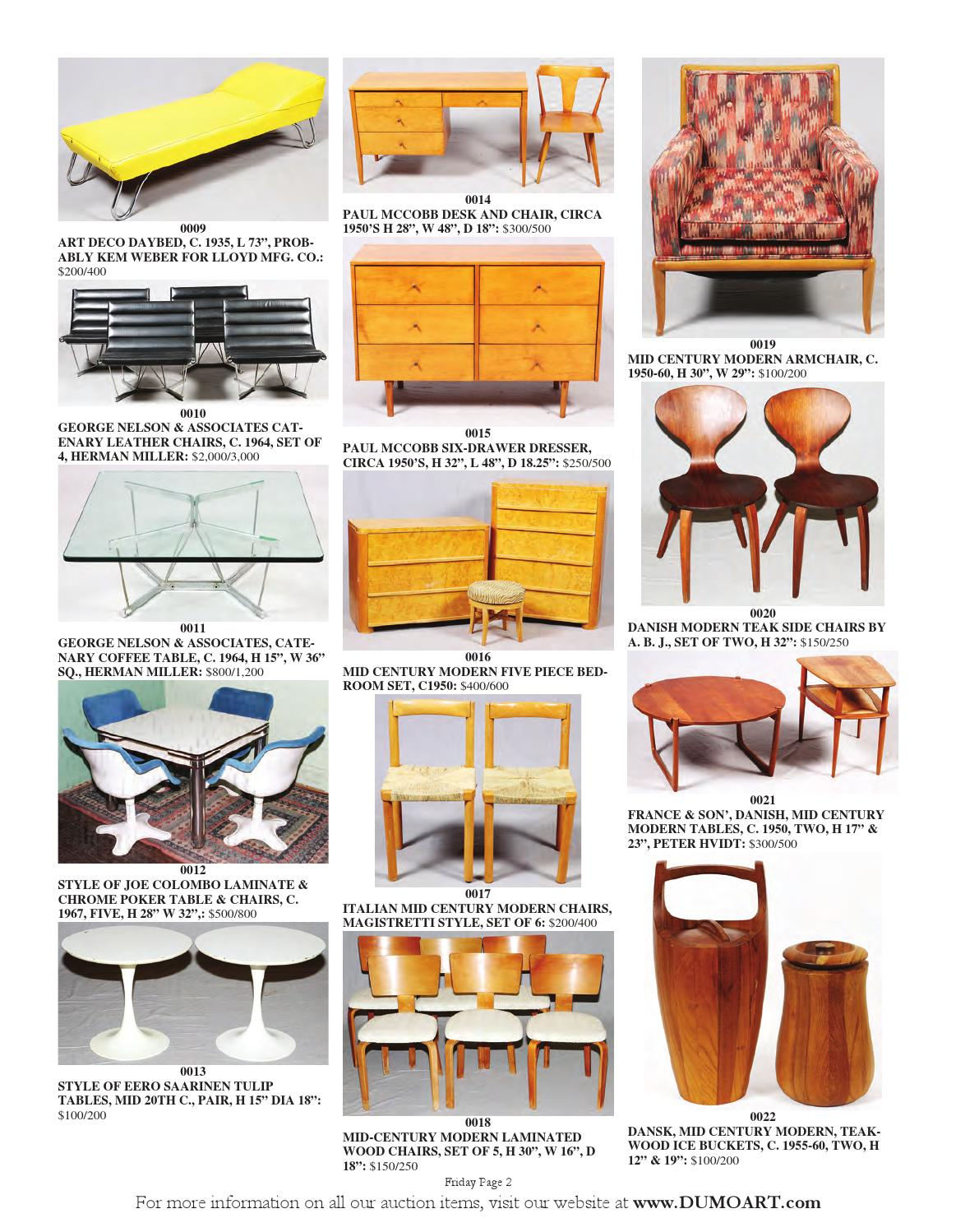 Stupendous Dumouchelle Art Gallery 2014 December 12Th 14Th Auction By Gmtry Best Dining Table And Chair Ideas Images Gmtryco