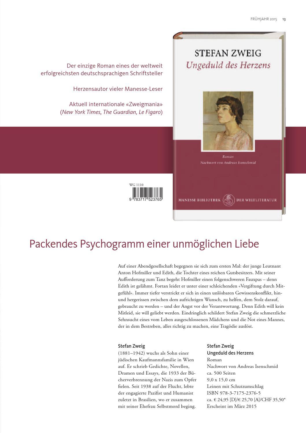 Manesse Vorschau Frühjahr 2015 By Verlagsgruppe Random House