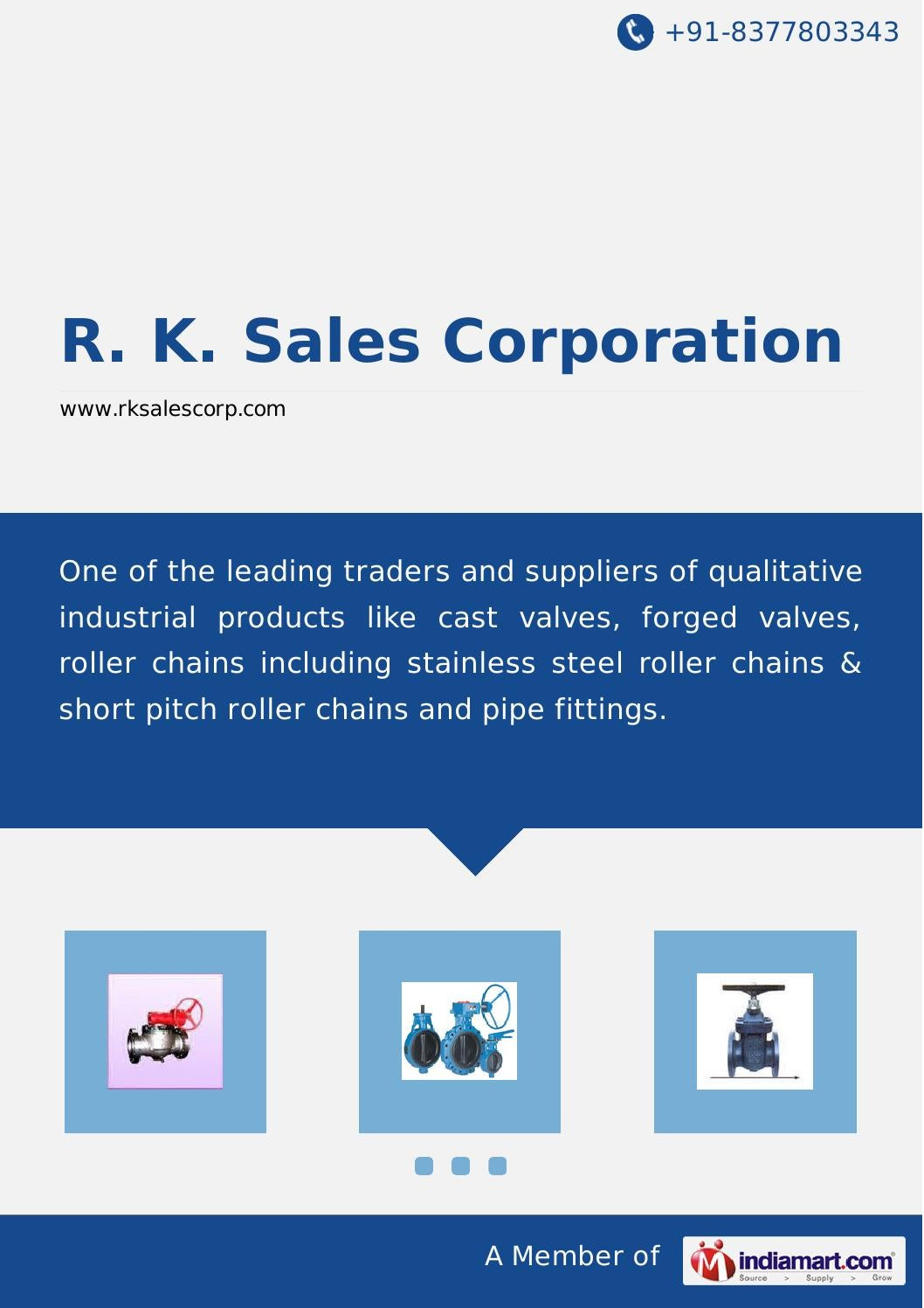 R k sales corporation by R  K  Sales Corporation - issuu