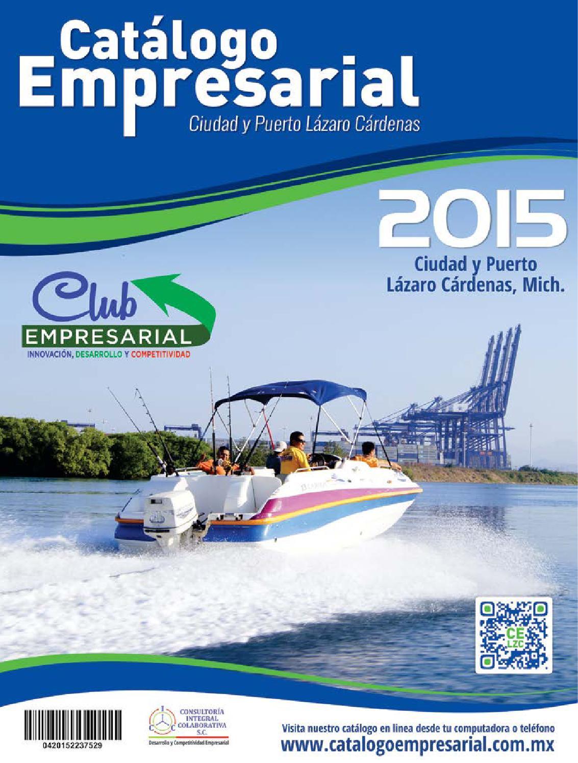 Catalogo Empresarial 2015 Lázaro Cárdenas Mich by Consultoria Integral  Colaborativa SC - issuu 000ca23bc4c8